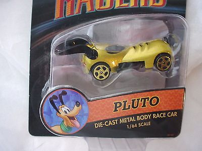 Disney Racer PLUTO Die Cast Metal Body Race  Car