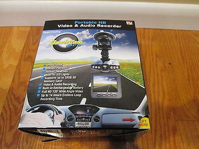 Dash Cam Pro Portable HD Video and Audio Recorder