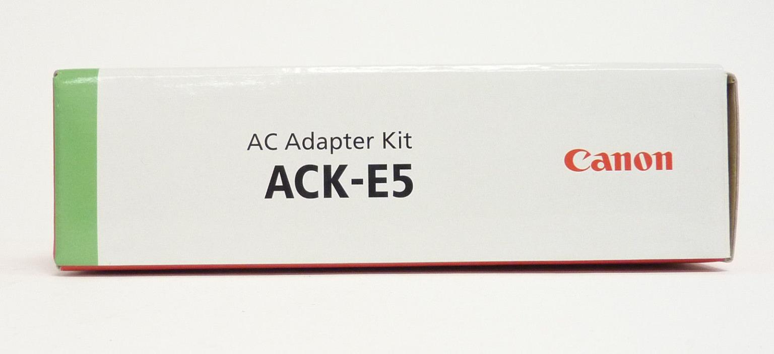 Canon ACK-E5 AC Adapter Kit for EOS Rebel XS, XSi, and T1i