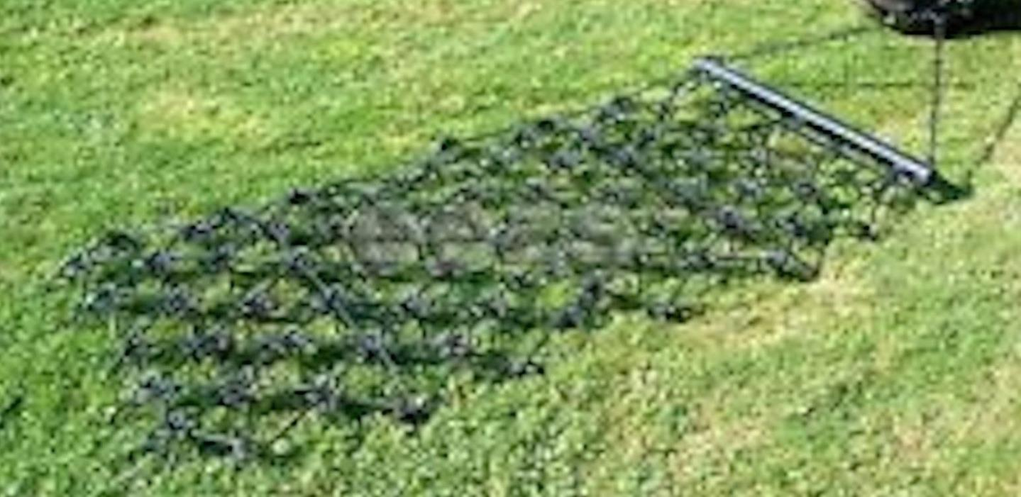 Farnam's Delta Harrow Rake Tine Harrow Cultivate Aerates Soil