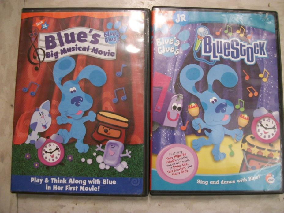 2  KIDS DVDs...Blues Clues...  FREE SHIPPING