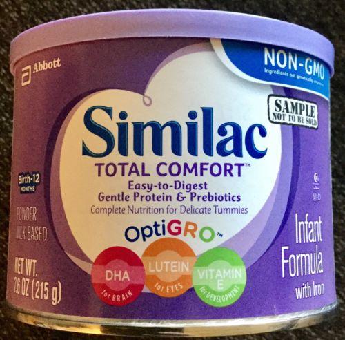1 Can Of Similac Total Comfort Formula 7.6 oz