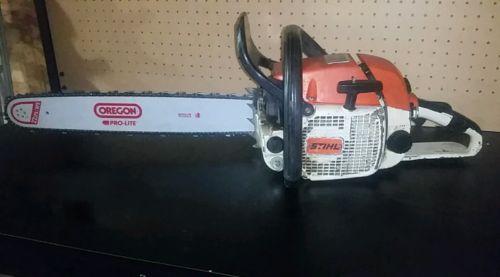 Stihl 028 Av chainsaw with new 20 bar and chain. Runs good! Clean saw!