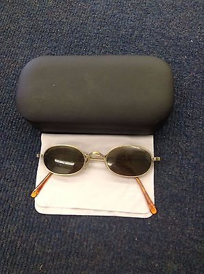 Matsuda 10608-SB-0009 Vintage Sunglasses Brass Colored GREAT CONDITION RARE