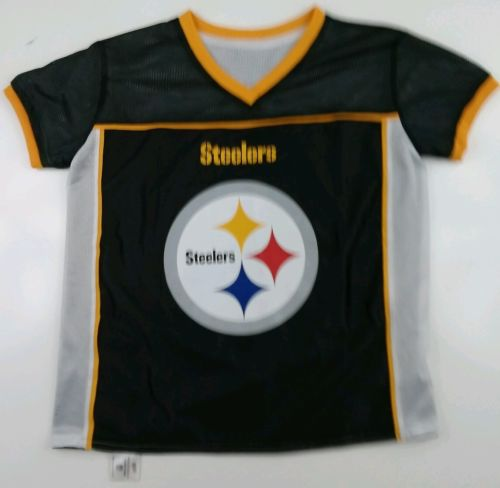 Mesh Steelers Football Jersey  NFL Flag Youth Large