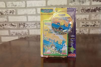 Fisher Price Scholastic Read with Me DVD The Little Engine That Could