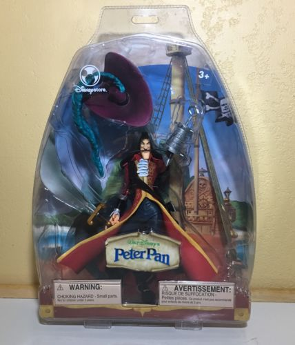 Walt Disney's Peter Pan Captain Hook Disney Store Action figure-Large Hook