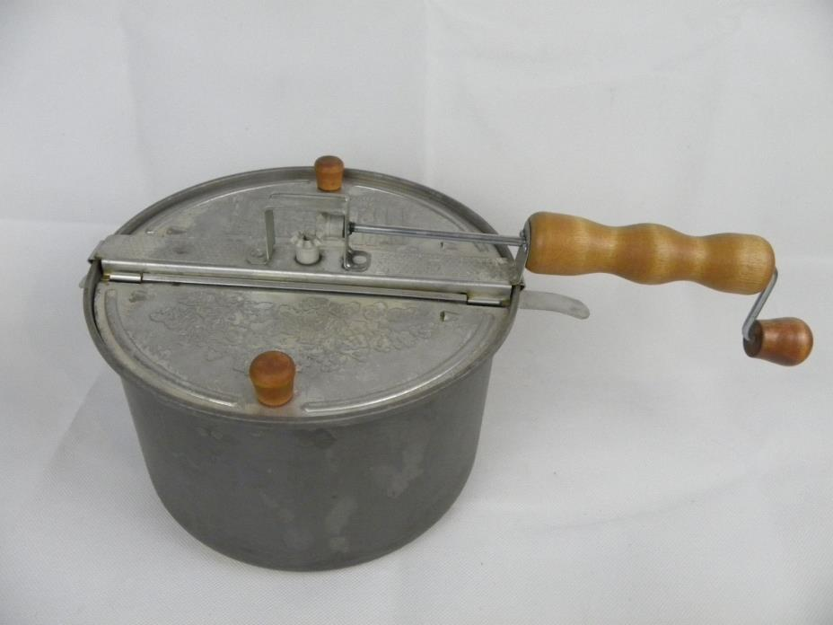 High Temperature Theater II Stove Top Popcorn Popper With Handcrank