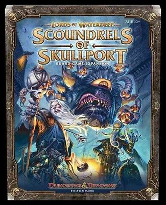 Lords of Waterdeep Expansion: Scoundrels of Skullport by Rodney Thompson (Englis