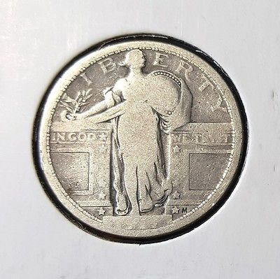 1917 Standing Liberty quarter - type 1