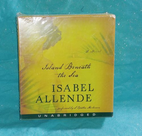 New Island Beneath The Sea By Isabel Allende Audio Book Cd