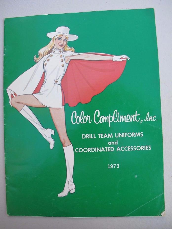 Color Compliment Drill Team Cheerleader Uniforms and Accessories 1973 Catalog