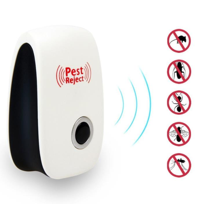 Pest Reject Ultrasonic Pest Control Repeller Plug In Mosquito Cockroach Insect