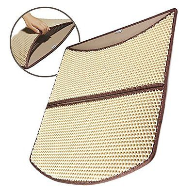 Cat Litter Mat Large 24 x 22 Scatter Control Kitty Tracking Sweeping Floor