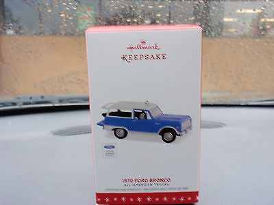 2016 Hallmark 1970 Ford Bronco All American Truck Series Ornament