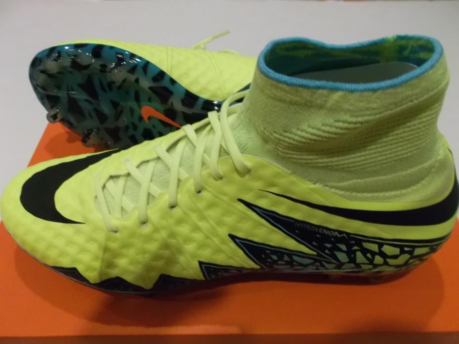 NIB NIKE HYPERVENOM PHANTOM II FG Soccer Cleats, Size: 11.5 747213-703 $275