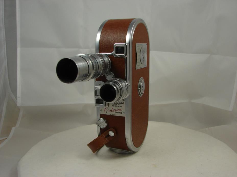 Vintage Keystone A-12  Movie Film Camera 16mm MINT