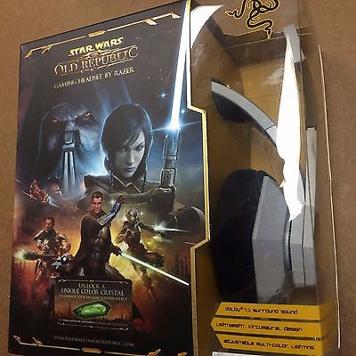 Star Wars The Old Republic by RAZER Gaming Headset Headphone