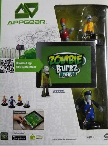 APPGEAR Zombie Burbz Avenue - for Apple and Android  - Augmented reality game