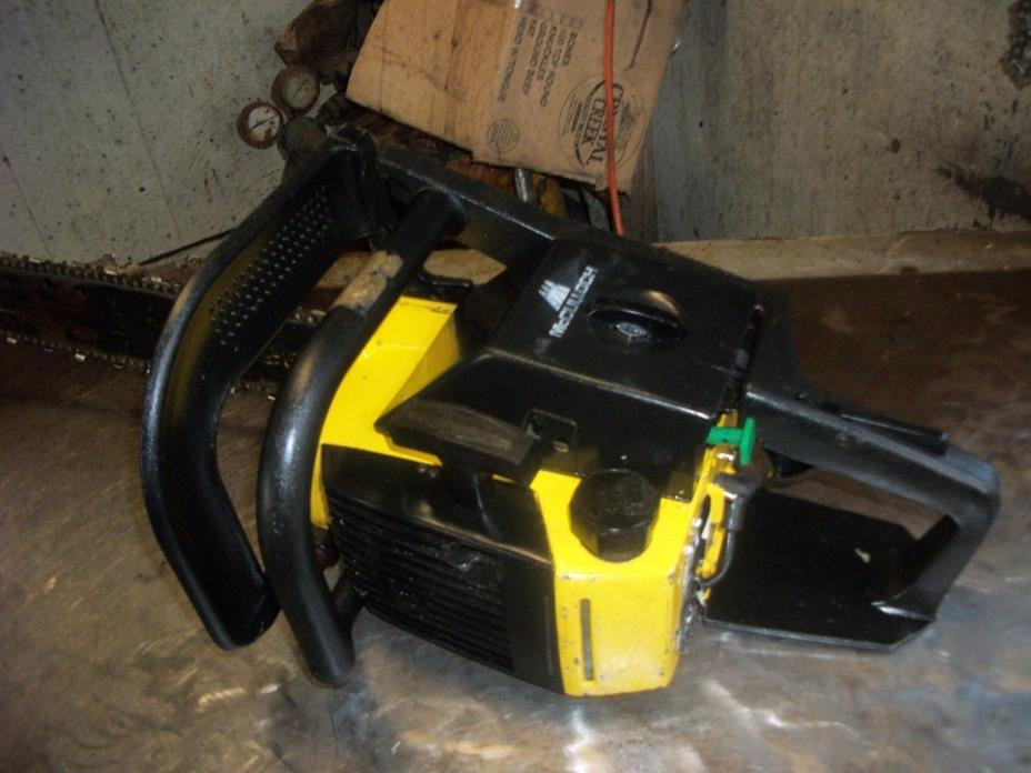 MCCULLOCH PRO MAC 610 CHAINSAW WITH 20