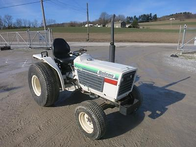 Bolens G214 Compact Tractor, Nice! ONLY 290 Hours, 4x4, 21HP Izeki Diesel Engine