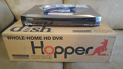 DISH NETWORK HOPPER 2TB HARD DISK RECEIVER WITH SLING (OWNED NOT LEASE)