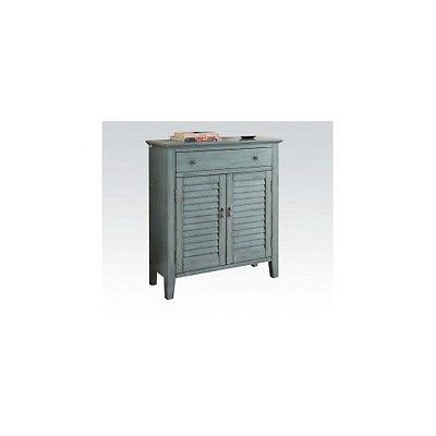 ACME Furniture Winchell Antique 1 Door Accent Cabinet