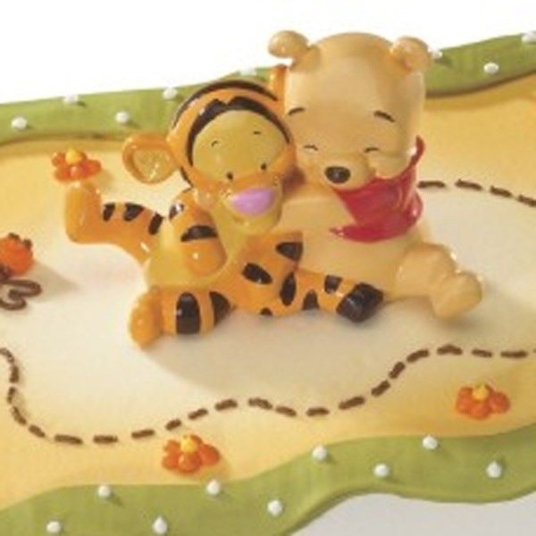 BABY POOH WITH TIGGER HUGGING by DecoPac - Cake Topper - BRAND NEW!
