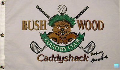 Rodney Dangerfield Signed/Autographed Caddyshack Bushwood Golf Pin Flag