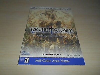 Vagrant Story Official Strategy Guide Book Brady Games Nice