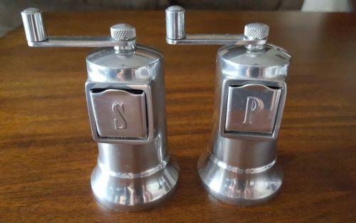 Perfex salt & pepper mill set