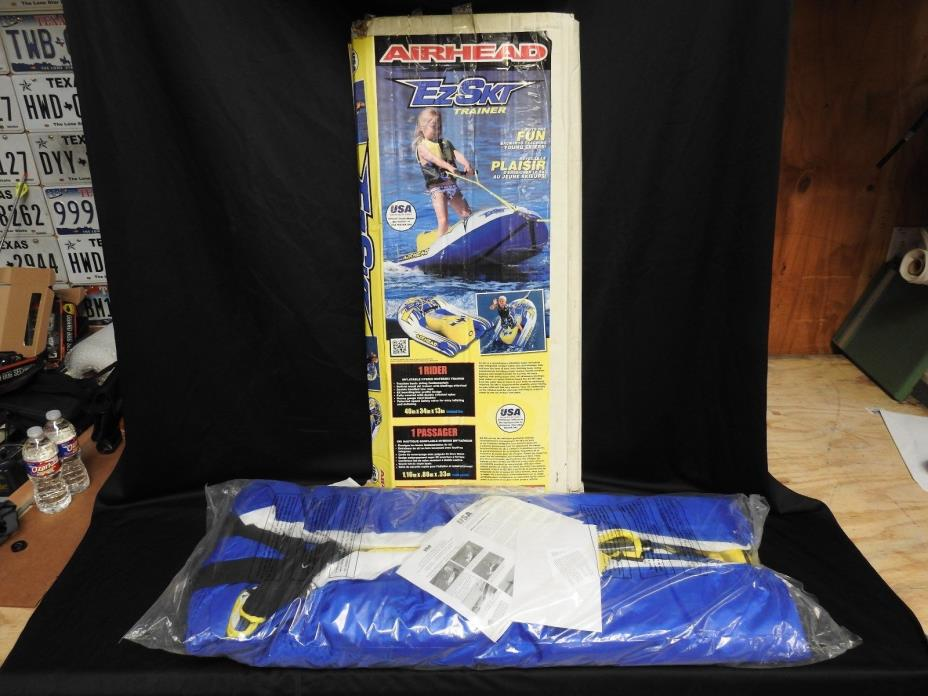 Airhead EZ Ski Trainer Inflatable Tube Young Skier Towable 1 Rider Water Skiing