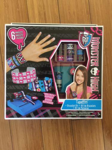 Monster High Tapefitti Bracelet Kit