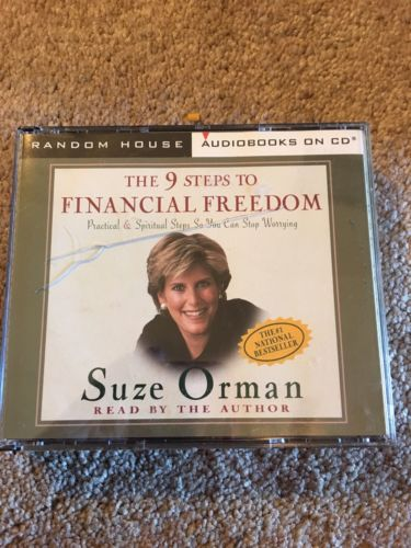 The 9 Steps to Financial Freedom by Susie Orman Popular 3 CD Set Audiobook-VGC