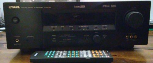 Yamaha HTR 5740 6.1 Channel 100 Watt Receiver bundle w/ remote
