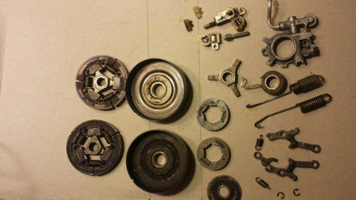 Stihl 044 440 chainsaw parts chain brake hardware,springs clutch parts oil pump