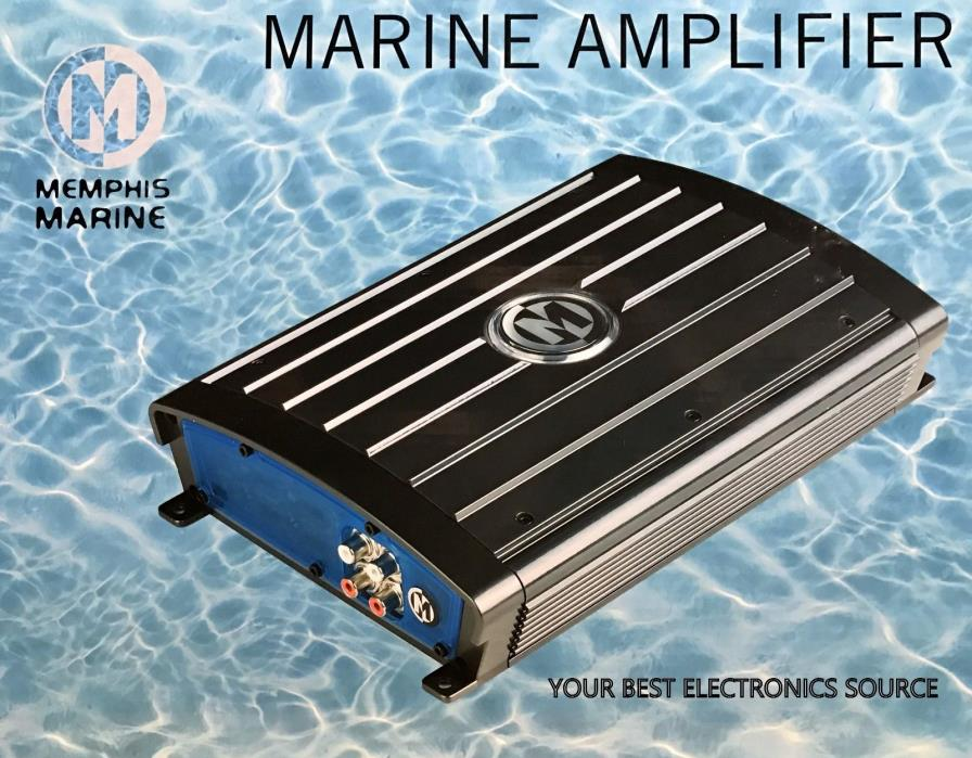 NEW Memphis Audio 16-MM1.600 Marine Monoblock Amplifier
