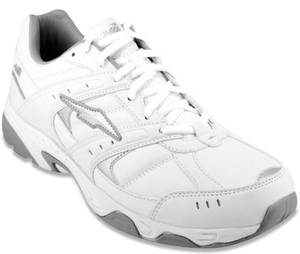 AVIA Men's 8 W or 8.5 W PETER WALKING SHOES/SNEAKERS White WIDE ~ New