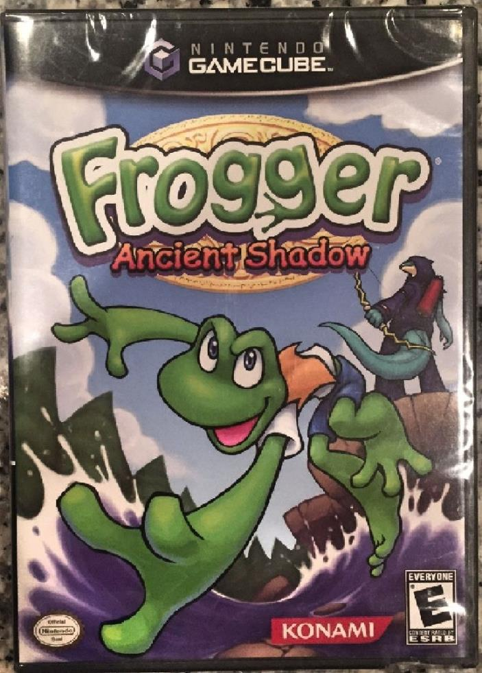 Frogger: Ancient Shadow (GameCube, 2005) BRAND NEW SEALED - FREE U.S. SHIP -NICE