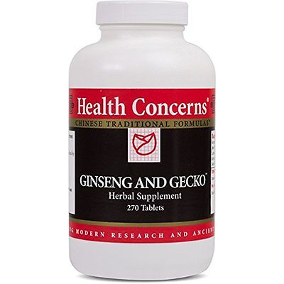 Health Herbal Supplements Concerns - Ginseng and Gecko - Herbal Supplement - Ren