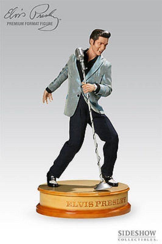 Elvis Premium Format Sideshow 1/4 Scale Statue Rock N Roll