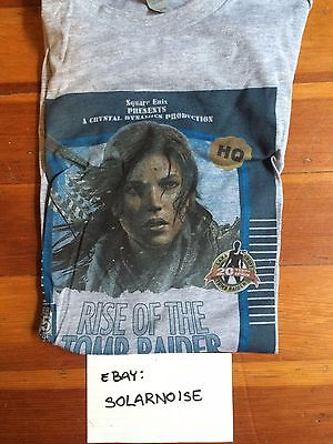 Rise of the Tomb Raider retro tshirt, men's small SM