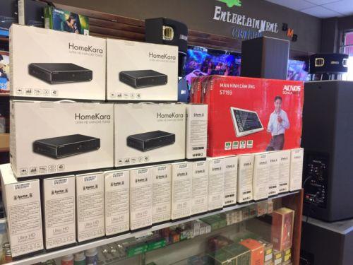 HomeKara A-1 4K Ultra HD Karaoke Player 8TB FREE MONTHLY MUSIC UPDATE)