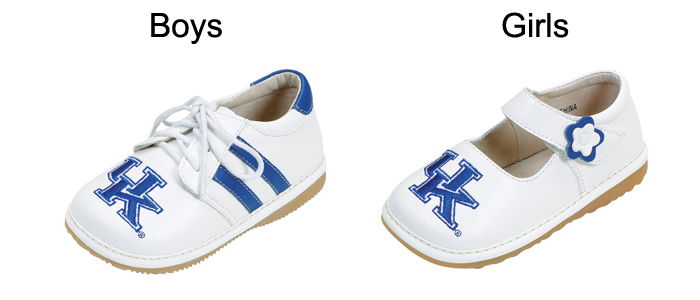 Kentucky UK Girls Boys Baby Toddler Kids Squeak Shoes Infant Tennis Clearance