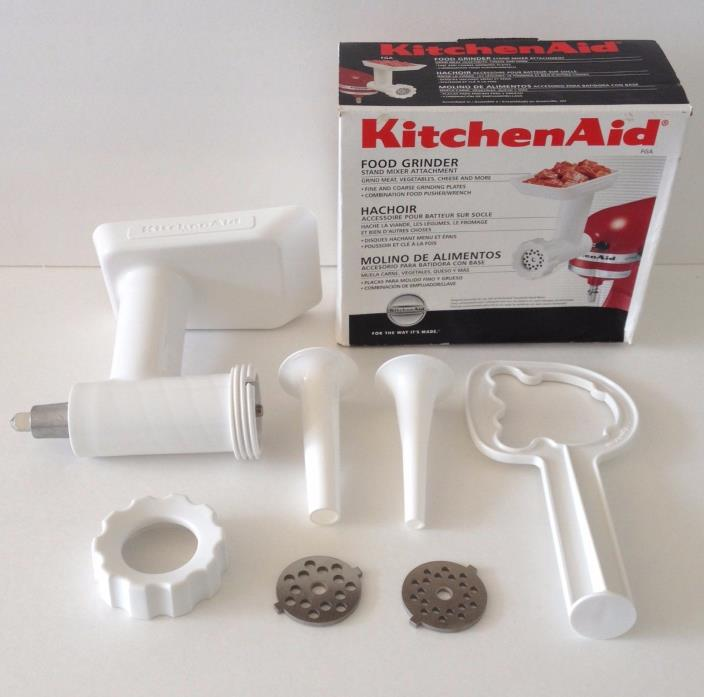 KITCHENAID FOOD GRINDER MIXER ATTACHMENT IN BOX