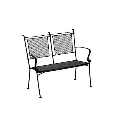 Woodard Bradford Wrought Iron Garden Bench