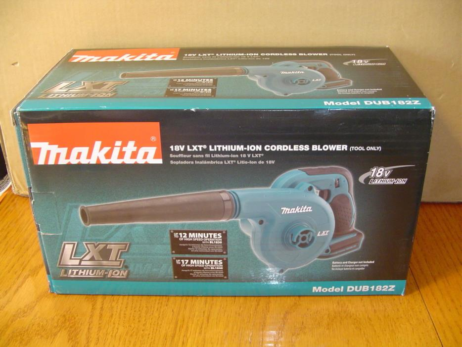NEW Makita DUB182Z 18V LXT Lithium-Ion Cordless Blower (Tool-Only)