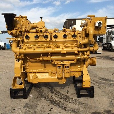 Cat Caterpillar 3412 Natural Gas engine. New, for Generator, Gas Compressor,
