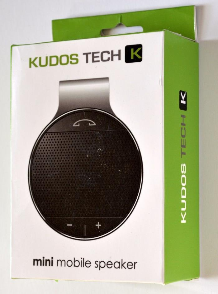 Kudos Bluetooth Speakerphone.  Connect 2 phones, Auto switch to answer incoming