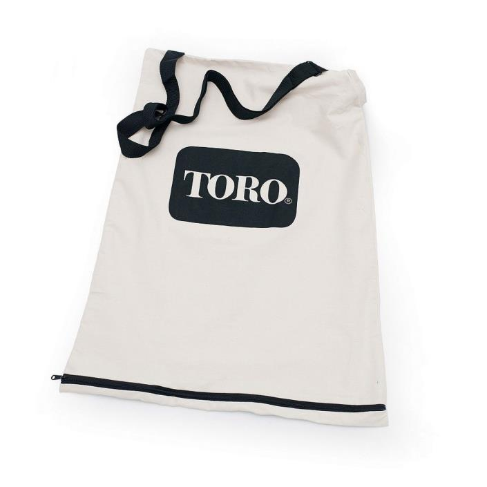 Toro 51503 Bottom Zip Replacement Bag White New - FREE PRIORITY SHIPPING
